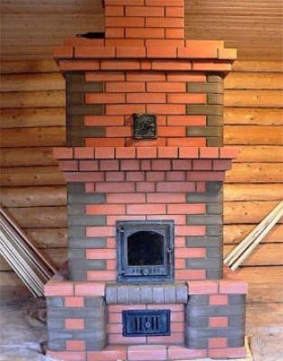 Печь голландка отопительная кирпичная для дома и дачи Кладка, строительство своими руками и порядовка